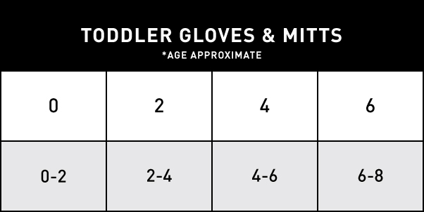 TODDLER GLOVES & MITTS